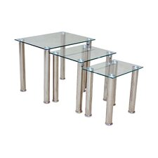 Togo 3 Piece Nest of Tables