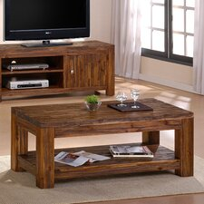 Cedaredge Coffee Table with Magazine Rack