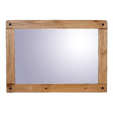 Rustic Corona Wall Mirror