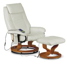 Aston Massage Recliner and Footstool
