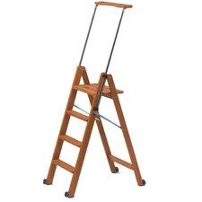 1,62 m Rollbare Leiter Tuscania aus Holz