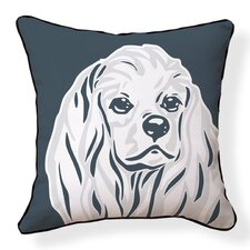 Cocker Spaniel Double Sided Cotton Throw Pillow