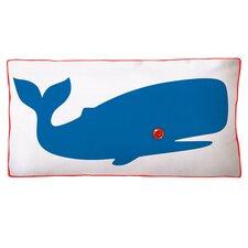 Whale Double Sided Cotton Boudoir/Breakfast Pillow