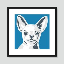 Chihuahua Framed Graphic Art