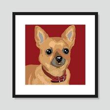 Brown Chihuahua Graphic Art