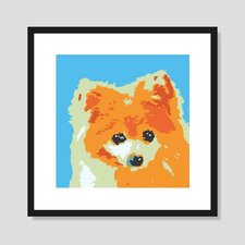 Pomeranian Framed Graphic Art