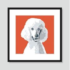 Poodle Graphic Art