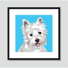 West Highland Terrier Framed Graphic Art