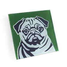 Pug Coaster (Set of 4)