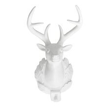 Bavarian Deer Head Trophy Wall Décor (Set of 2)