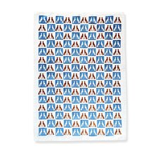 Greyhound Pattern Tea Towel