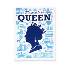Good Queen Tea Towel