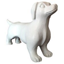 Modern Mini Dachshund Figurine (Set of 2)