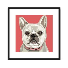 French Bulldog Framed Graphic Art