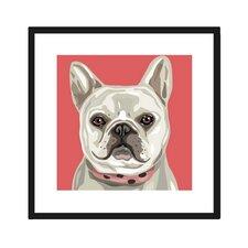 French Bulldog Framed Graphic Art