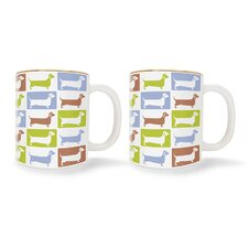 Dachshund Mugs (Set of 2)