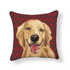 Pooch Décor Retriever Throw Pillow