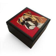Boxer Jewelry Box