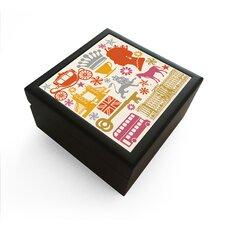 Great Britain Jewelry Box