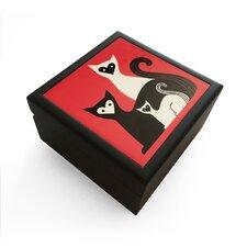 Kitties Jewelry Box