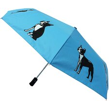 3.6' Boston Terrier Umbrella