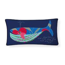 Whale Lumbar Pillow