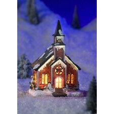 Weihnachtsleuchte Kirche