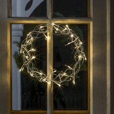 LED-Metallsilhouette Kranz