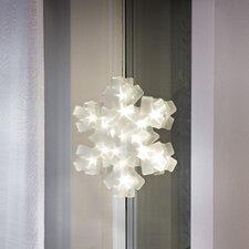 LED-Weihnachtsleuchter Schneeflocke