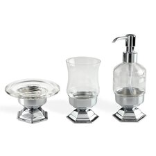 Marte 3 Piece Bathroom Accessory Set