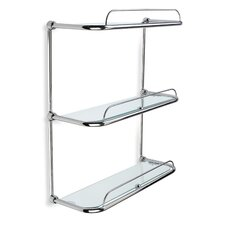 "16.1"" W x 18.1"" Bathroom Shelf"