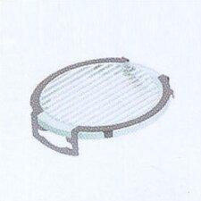 Lens Single Clip Stripe Diffuser in Silver