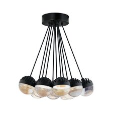 Sphere 11 Light Candle Chandelier