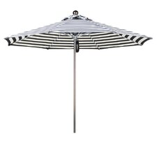 9' Striped Umbrella