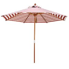 9' Round Striped Umbrella