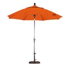 9' Fiberglass Market Collar Tilt Umbrella