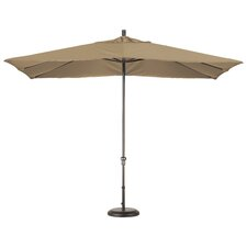 11' x 8' Rectangle Aluminum Market Umbrella