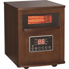 1,500W Portable Electric Infrared Cabinet Heater