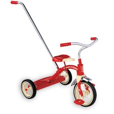 Classic Tricycle with Push Handle