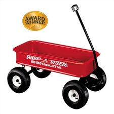 Big Red Classic Ride-On Wagon