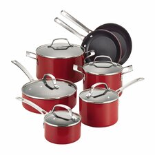 Genesis 12 Piece Aluminum Cookware Set