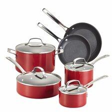 Circulon Genesis Aluminum Nonstick 10 Piece Cookware Set