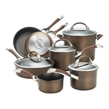 Symmetry Hard Anodized Nonstick 11 Piece Cookware Set