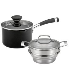 Acclaim Non-Stick 2-Quart Straining Steamer Set