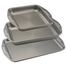 Non-Stick 3 Piece Bakeware Set