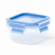 Emsa by Frieling 8.5 Oz. 3D Food Storage Square Clip and Close Container (Set of 2)