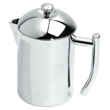 Stainless Steel 0.5-Quart Tea Maker with Infuser Basket