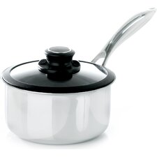 Black Cube Saucepan with Lid