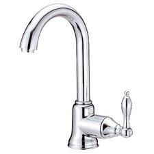 Fairmont Single Handle Deck Mount Kitchen Faucet with Swivel Spout