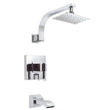 Sirius Diverter Tub and Shower Faucet Trim
